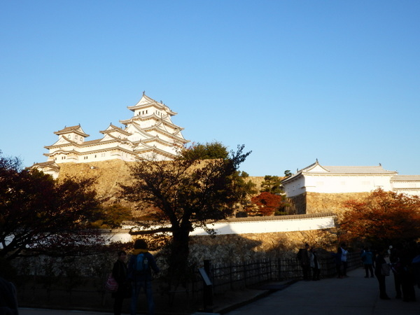 姫路城夕暮れ (2)