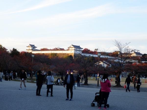 姫路城夕暮れ (12)