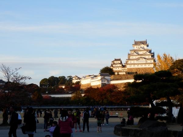 姫路城夕暮れ (13)