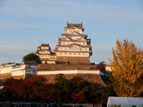 姫路城夕暮れ (15)