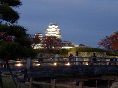 姫路城夕暮れ (22)