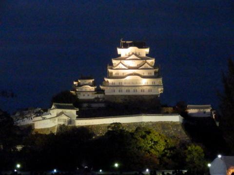 姫路城夕暮れ (23)