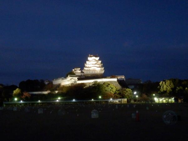姫路城夕暮れ (24)