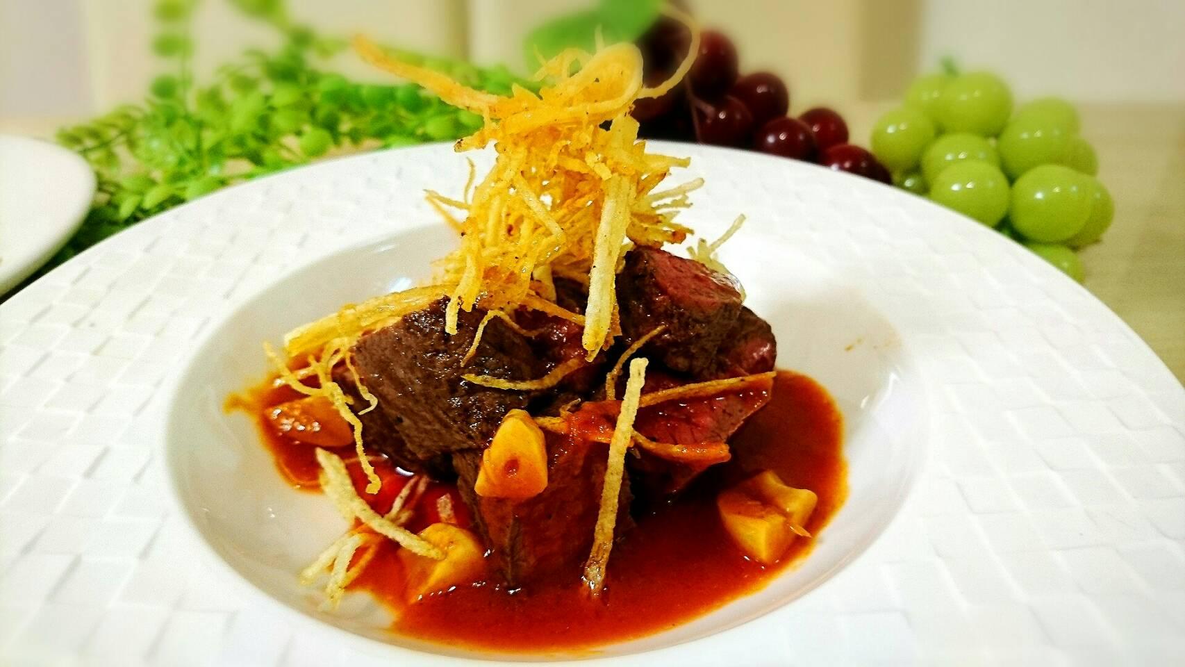 安い肉が高級料理に変身