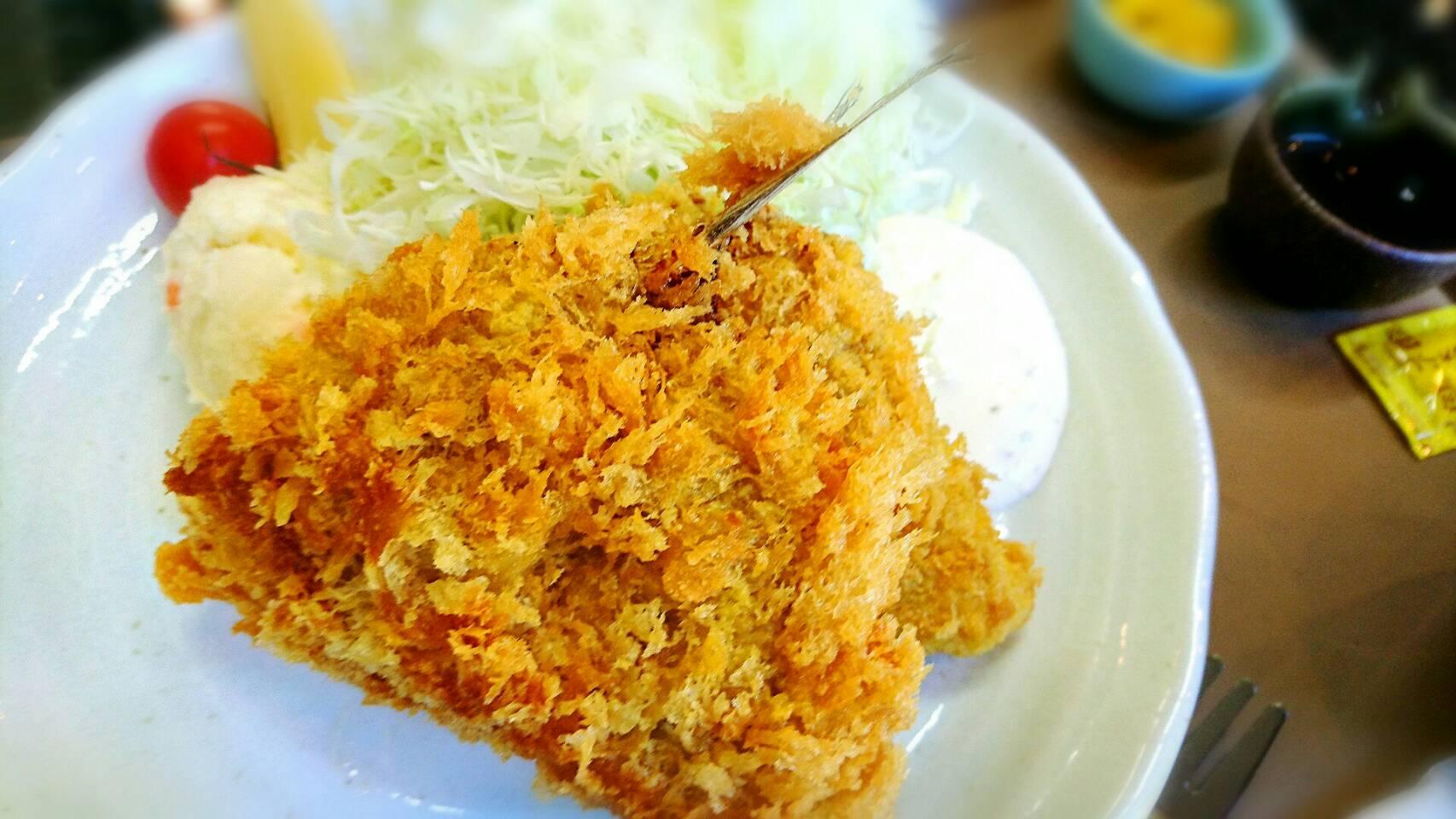 伊豆 絶品アジフライ定食