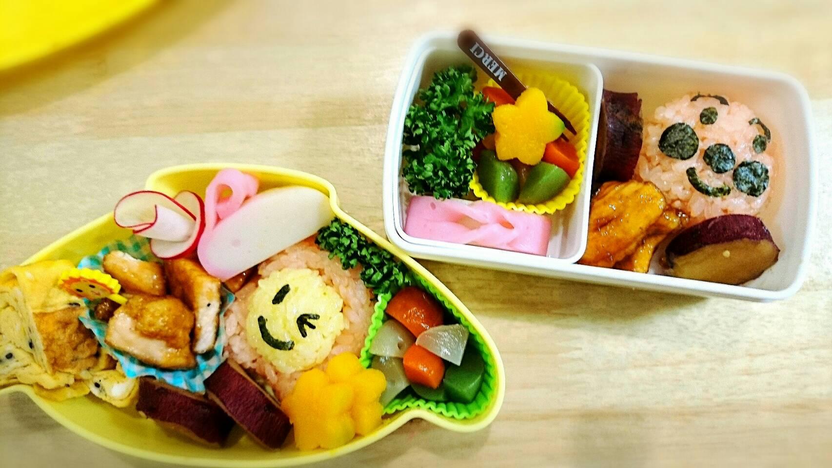 幼稚園のお弁当作り