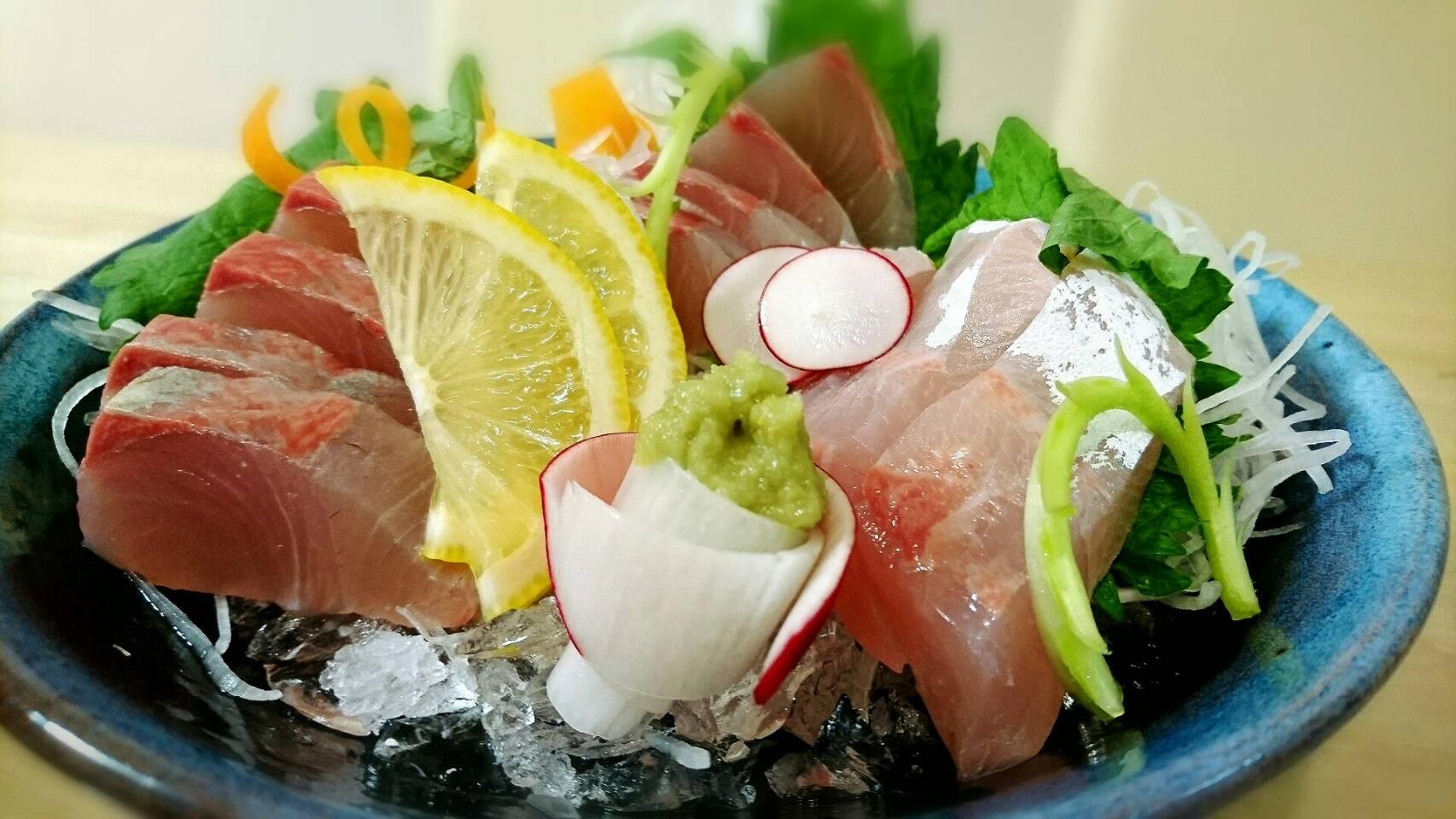 【魚料理】カンパチで4種類の料理