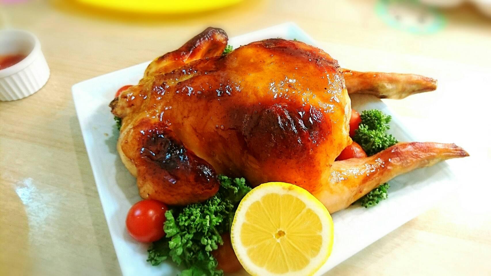 【クリスマスメニュー】丸鶏のローストチキン