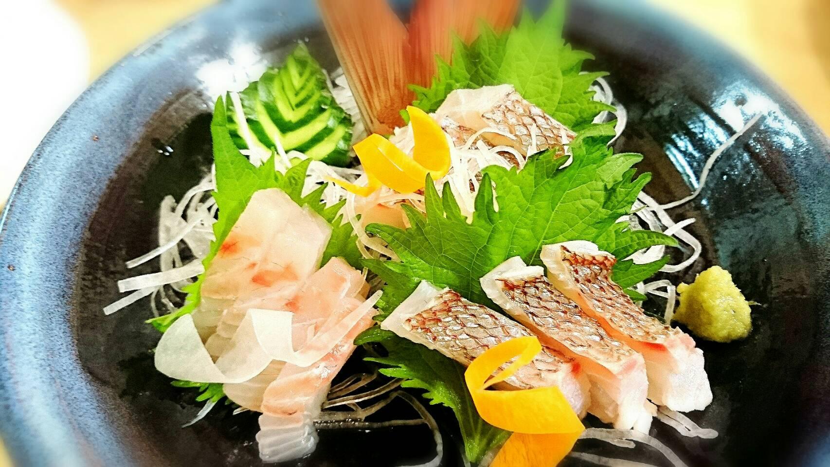 【ご当地グルメ】天然真鯛の3枚おろし 宇和島風鯛めし