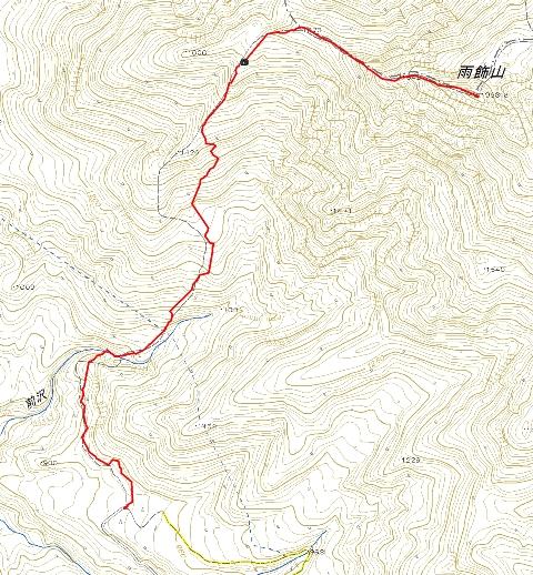 雨飾山 Map