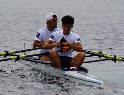 2017世界選手権、日本LM2X Crew Japan facebookより