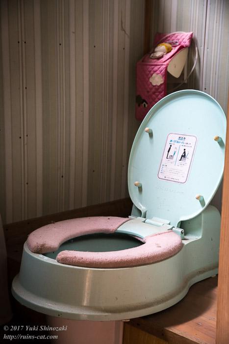 整理整頓されたトイレ