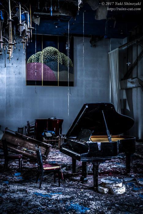 グランドピアノのある式場