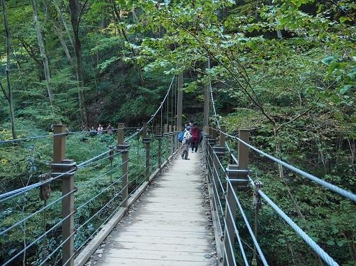 吊り橋コース(4号路)