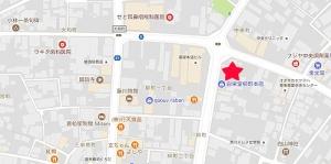 白栄堂本店地図