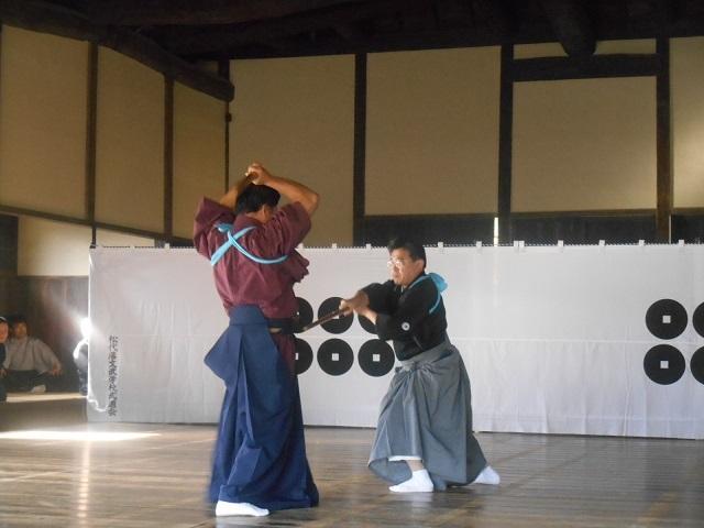1709_柳剛流剣術「中合剣」