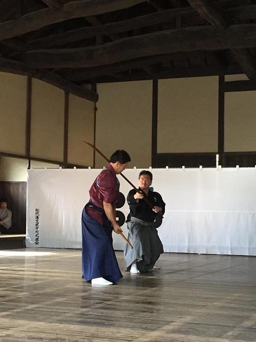 1710_松代演武_柳剛流長刀