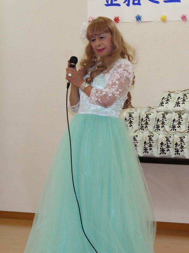 薄緑ドレス舞台(4)