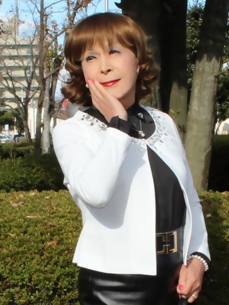 マーメイドレザースカートA(10)