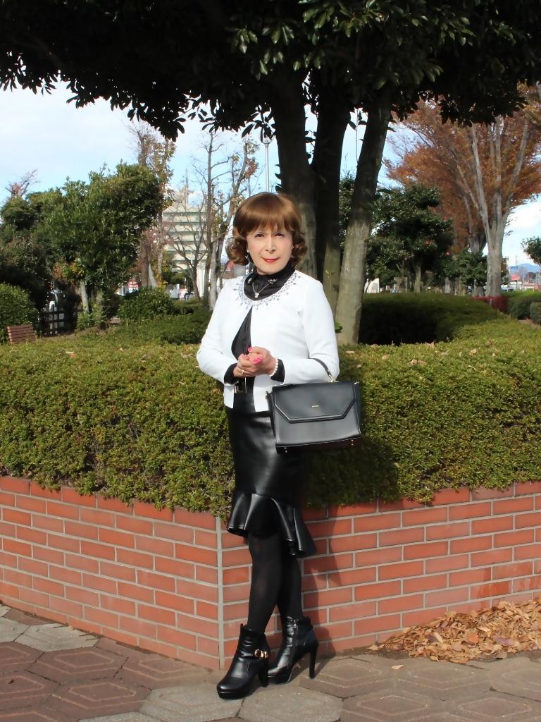 マーメイドレザースカートA(5)