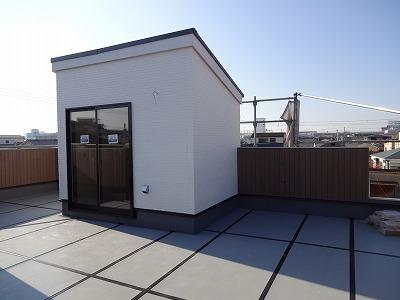 岸和田の屋上の家03