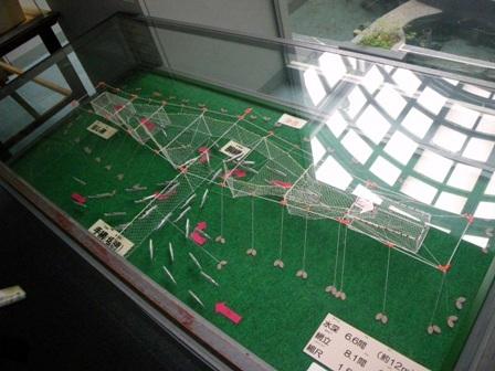定置網の模型
