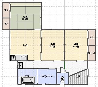 吾田東9丁目貸家