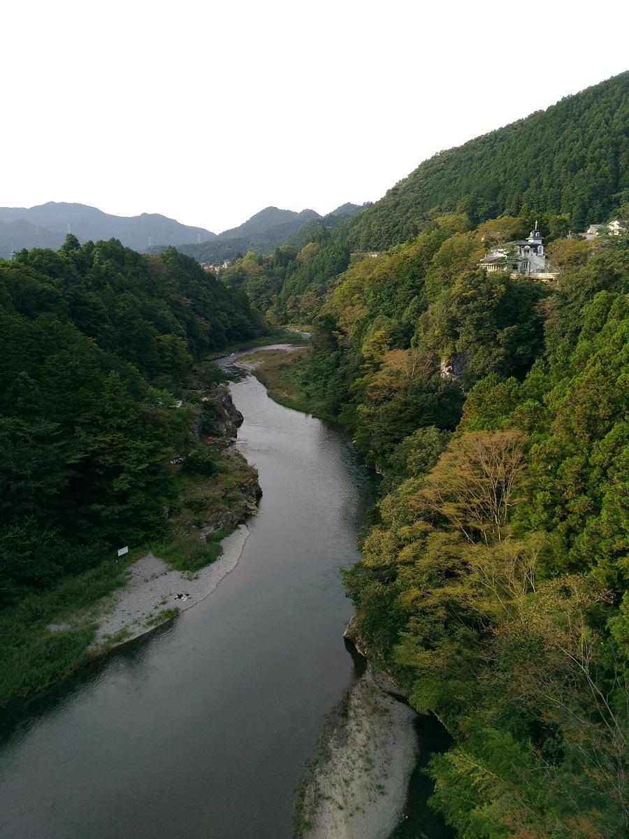 秋の気配の多摩川