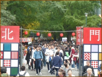 20171109  北門から    早稲田祭