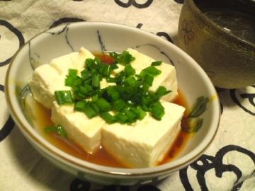 むさしや十勝木綿で湯豆腐