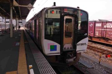 石巻駅到着
