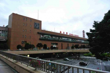 朝の仙台駅