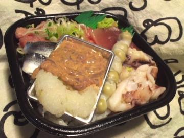 イカ珍味入り海鮮丼