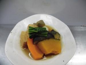 つくねと野菜の煮物