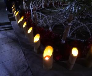 3-1竹灯り