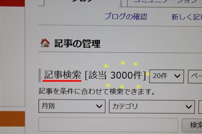 3000記事 004
