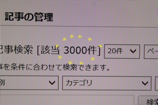 3000記事 005