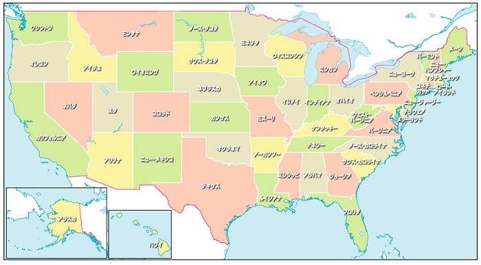 america州