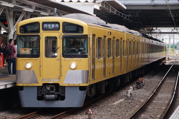 2017-10-01 西武2083F 同窓会電車2