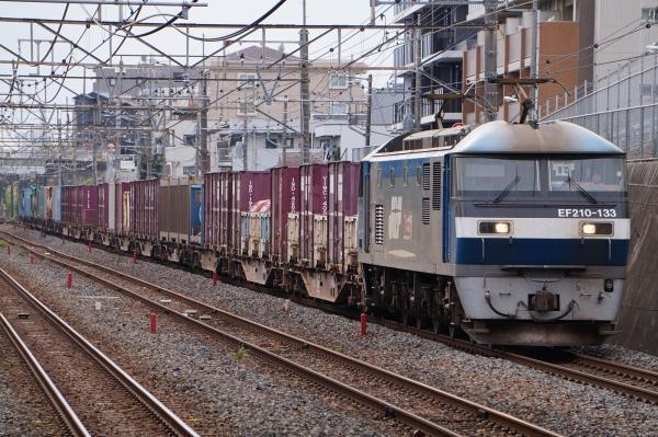 2017-10-08 EF210-133牽引 貨物列車