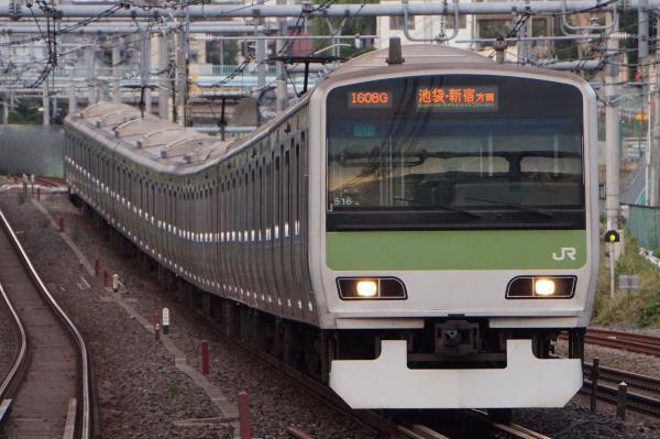 2017-10-08 山手線E231系トウ516編成 池袋・新宿方面行き