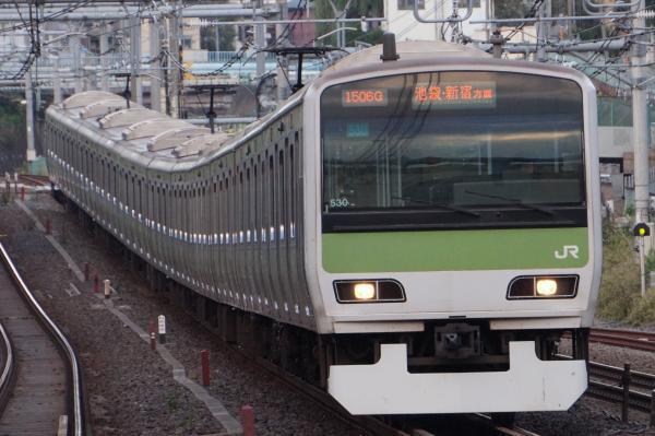 2017-10-08 山手線E231系トウ530編成 池袋・新宿方面行き