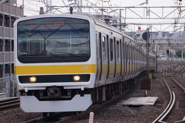 2017-10-08 総武線209系ミツC504編成 津田沼行き