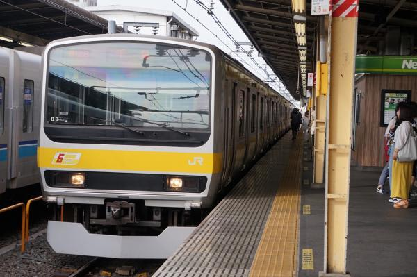 2017-10-08 総武線E231系ミツB9編成 千葉行き2