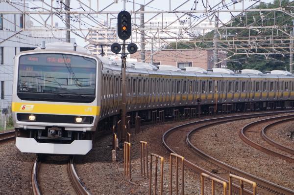 2017-10-08 総武線E231系ミツB12編成 千葉行き