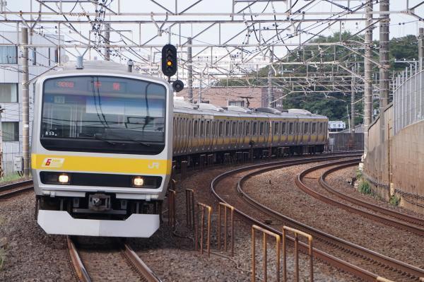 2017-10-08 総武線E231系ミツB13編成 千葉行き
