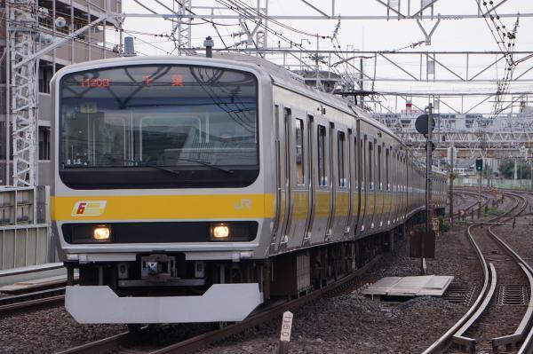 2017-10-08 総武線E231系ミツB15編成 千葉行き