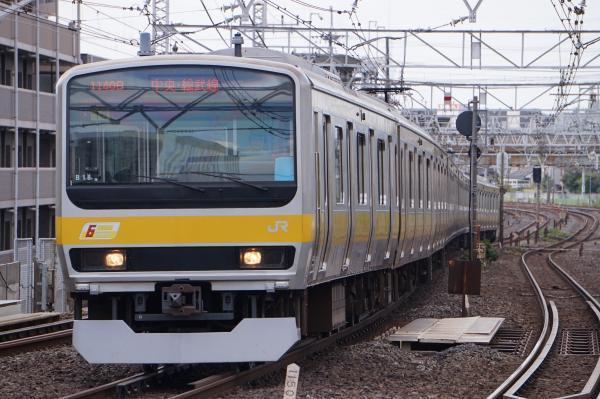 2017-10-08 総武線E231系ミツB18編成 千葉行き