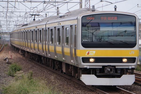 2017-10-08 総武線E231系ミツB23編成 千葉行き