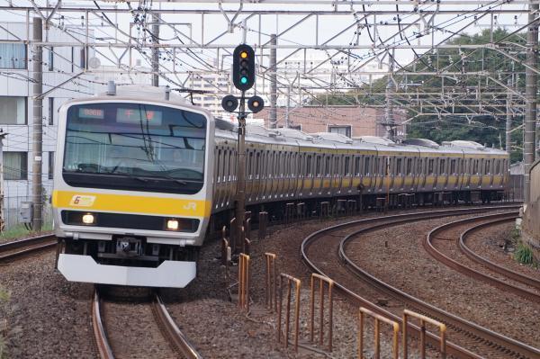 2017-10-08 総武線E231系ミツB80編成 千葉行き